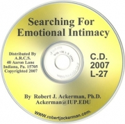 Searching for Emotional Intimacy