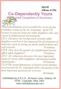Co-dependently Yours-Adult Daughters (4 CD Album)
